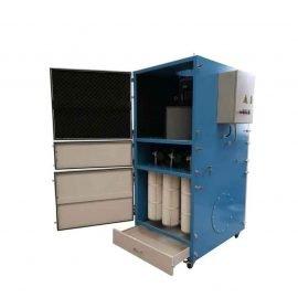 5.5KW滤筒脉冲工业移动吸尘机